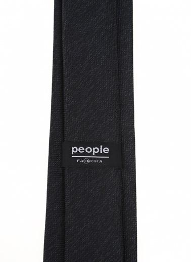 People By Fabrika Kravat Siyah